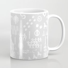 Peoples Story - White and Grey Coffee Mug
