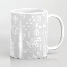 Peoples Story - White and Grey Coffee Mug