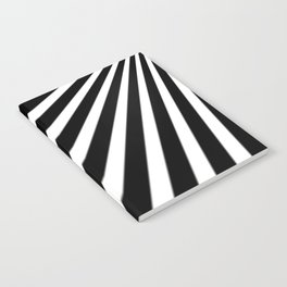 Black and White Stripes Notebook
