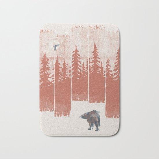 A Bear in the Wild... Bath Mat