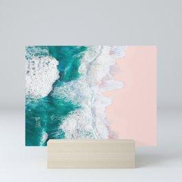 Pink Sand Beach Mini Art Print