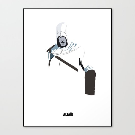 Assassins Creed - Altair Canvas Print