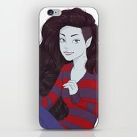 marceline iPhone & iPod Skins featuring Marceline by ribkaDory