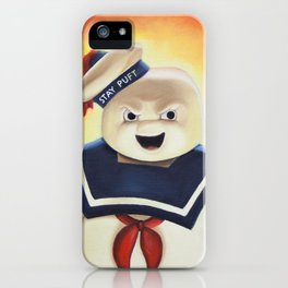Stay Puft Marshmallow Man iPhone Case