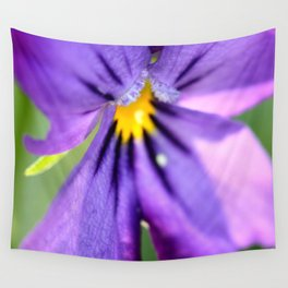 pansy, Wall Tapestry