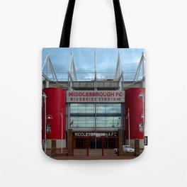 Football Stadium - Middlesbrough Tote Bag