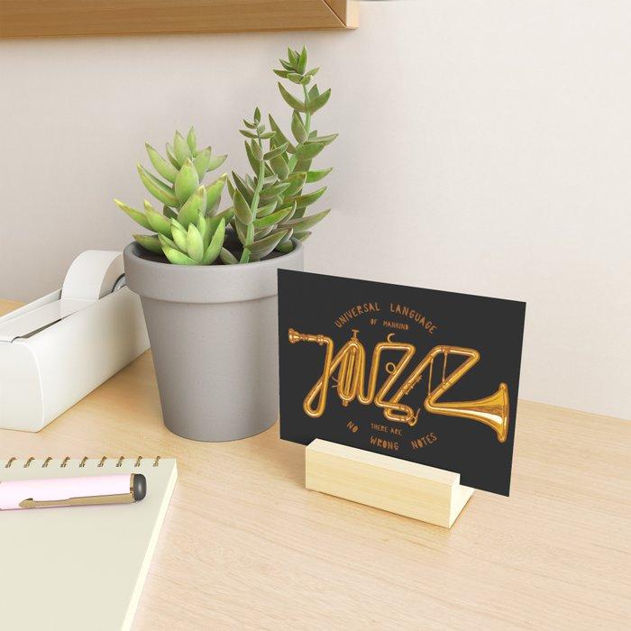 Jazz Trumpet Mini Art Print