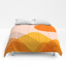 Abstraction_Mountains_02 Comforters