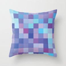 Rando Color 4 Throw Pillow