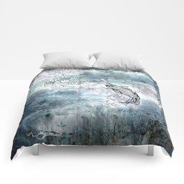 Fishing swordfish Comforters