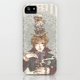Tea Time, lad. iPhone Case
