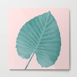 Love Leaves Evergreen Blush - Him #3 #decor #art #society6 Metal Print