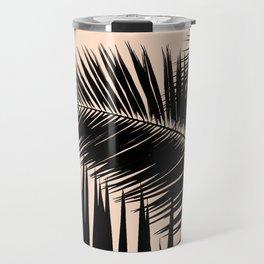 Palms on Pale Pink Travel Mug