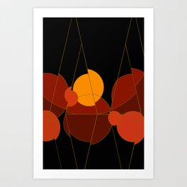 The Yellow One is the Sun Art Print