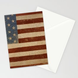 Flag US Flag American America Old Glory USA Stationery Cards
