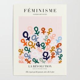 L'ART DU FÉMINISME Poster