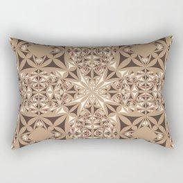Capuccino kaleidoscope Rectangular Pillow