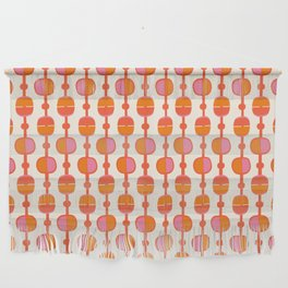 Mid Century Retro Dots Wall Hanging