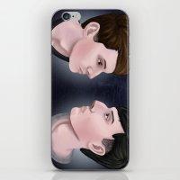 danisnotonfire iPhone & iPod Skins featuring Dan and Phil by Greenteaelf