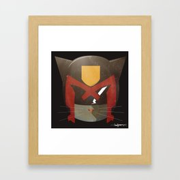 Judge Mewh Framed Art Print