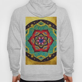 Connection with the universe / Mandala by Ilse Quezada Hoody
