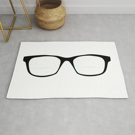 Pair Of Optical Glasses Rug