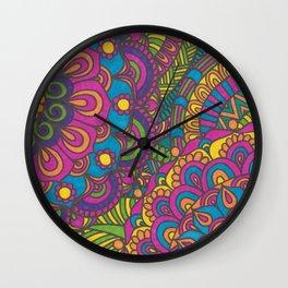Summer Mix Wall Clock