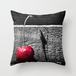 Cherry Pop. Throw Pillow