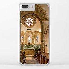 Barfreston Church Clear iPhone Case
