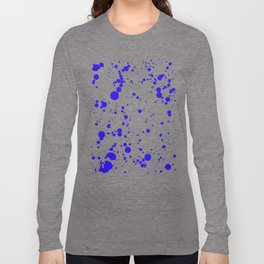 310001 Blue and Yellow Painting Long Sleeve T-shirt