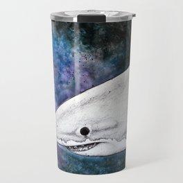 Galaxy Shark Travel Mug