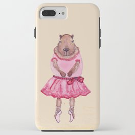 Capybara Ballerina  iPhone Case