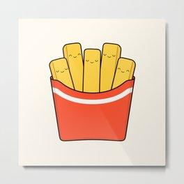 Best Fries Metal Print