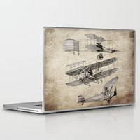 airplanes Laptop & iPad Skins featuring airplanes by Кaterina Кalinich