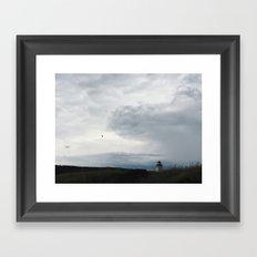 cape breton highlands Framed Art Print