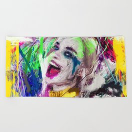 SUICIDE SQUAD-HARLEY QUINN Beach Towel