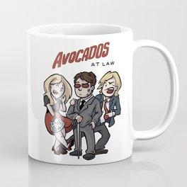 Avocados at Law Coffee Mug