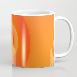 Flip in Orange and Red Coffee Mug