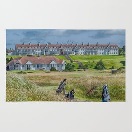 Turnberry Hotel and Golf Course Rug