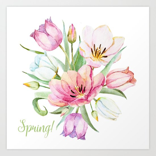 Spring is in the air #36 Art Print