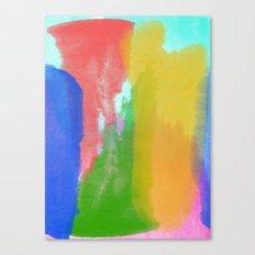 Colorful Paint Canvas Print