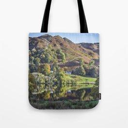 Loughrigg Tarn. Tote Bag