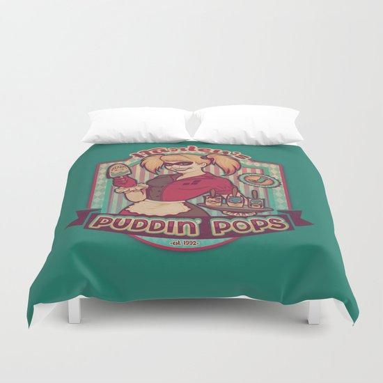 Harley's Puddin' Pops Duvet Cover