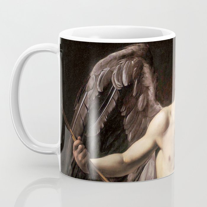 "Michelangelo Merisi da Caravaggio ""Amor Vincit Omnia"" Coffee Mug"