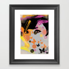 Audrey again Framed Art Print