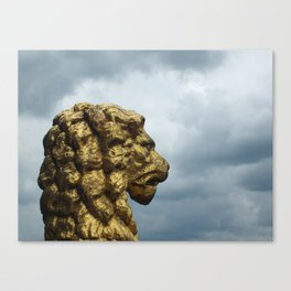 Cloud Lion Canvas Print