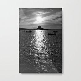 Holy Island Metal Print