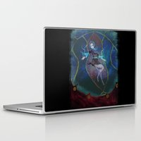 persona Laptop & iPad Skins featuring Fuuka Persona 3 by Creativelea