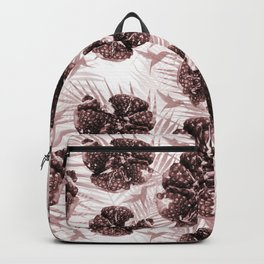 Pomegranate and colibri  Backpack