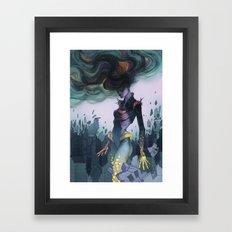 Crumbling Framed Art Print